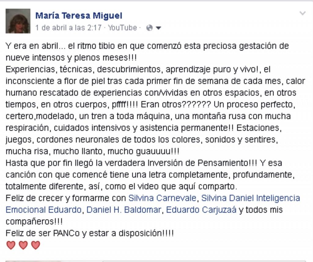 Maria Teresa Miguel